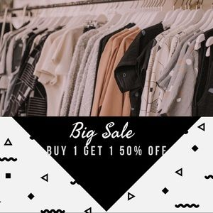 Other - Buy 1 Get 1 50% Off